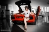 Gallery : Nikky and Lamborghini Aventador LP700-4