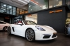 Gallery : Porsche The New 718 Boxster in White by SPYDER