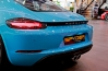 Gallery : Porsche The New 718 cayman Miami Blue by SPYDER