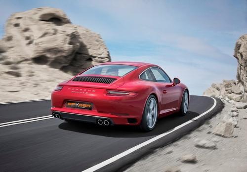 Porsche Daytime Running Light